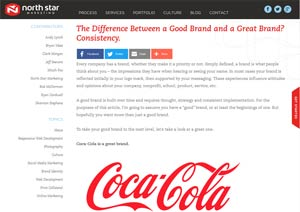 The Difference between good and great Brand